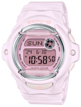 G-Shock Baby-g Women's Digital Pink Resin Strap Watch 42.6mm