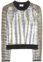 Acne Studios Nellia cotton-blend sweatshirt