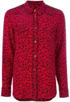 Coach leopard print shirt