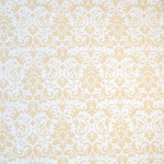 SheetWorld Fitted Pack N Play (Graco) Sheet - Cream Damask - Made In USA - 27 inches x 39 inches (68.6 cm x 99.1 cm)