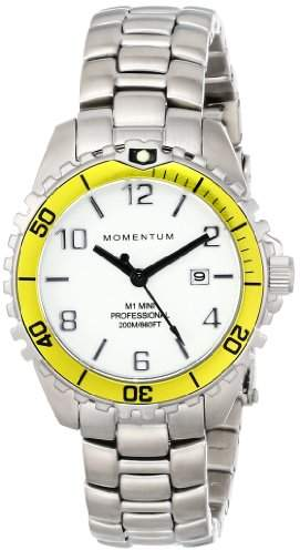 Momentum Womens Quartz Watch, Analogue Classic Display and Stainless Steel Strap 1M-DV07WY0