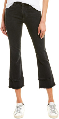 AG Jeans The Jodi 10 Years Deluge High-Rise Slim Flare Crop