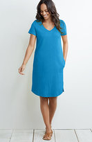 J. Jill Short-Sleeve Knit Dress