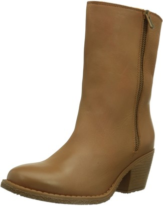 dkode Womens LEE WL Warm Lined Slip-on Boots Short Length Brown Braun (TAN 010) Size: 7 UK