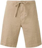 Loro Piana drawstring shorts - men - Cotton/Linen/Flax/Spandex/Elastane - L