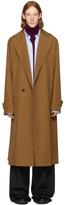 Wooyoungmi Brown Long Wool Coat
