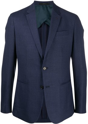 Paul Smith Fitted Buttoned Blazer