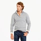 J.Crew Tall summit fleece half-zip sweatshirt in grey