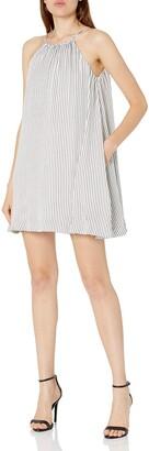 MinkPink Women's Spellbound Halter Stripe Swing Dress