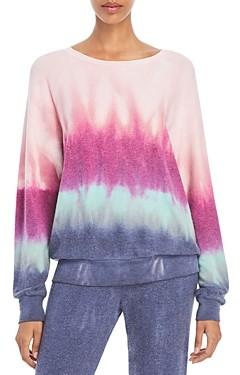 Wildfox Couture Printed Crewneck Sweatshirt