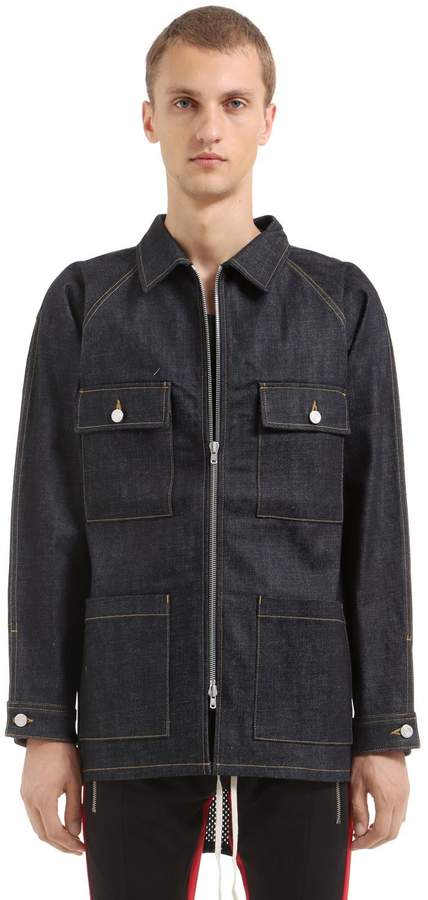 Fear Of God Raw Selvedge Denim Jacket