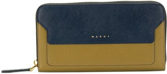 Marni Trunk continental wallet