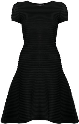 DSQUARED2 Ribbed Flared Dress