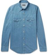 Tom Ford Slim-Fit Denim Shirt