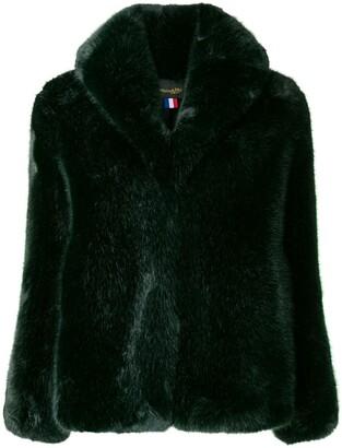 La Seine & Moi Anna faux fur jacket