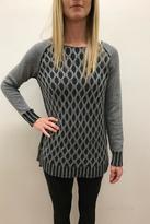 Tribal Cotton Cable Sweater