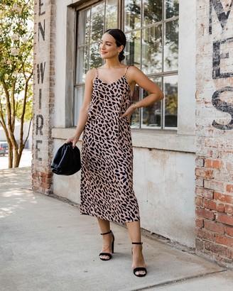 The Drop Women's Animal Print Slip Dress by @kathleen_barnes