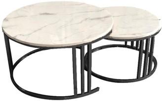 Future Classics Furniture Lancaster Coffee Table Set/2 Black