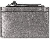 Accessorize Tameka Croc Leather Travelcard Holder