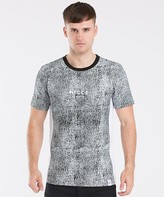 Nicce Cracked Side Panel T-Shirt
