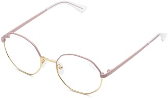 clear Quay Sunglasses Womens **Pink Lens 'Eclectic' Frames By Quay - Pink