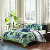 Bed Bath & Beyond Mizone Jayna Full/Queen Comforter Set in Blue