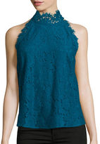 Diane Von Furstenberg Jemmie Sleeveless Lace Top