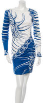 Emilio Pucci Printed Long Sleeve Dress