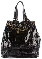 Saint Laurent Patent Leather Faubourg Tote