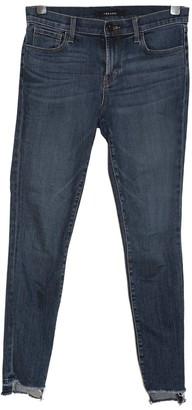J.Crew Blue Cotton Jeans for Women