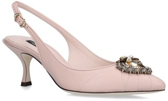 Dolce & Gabbana Devotion Slingback Pumps 60