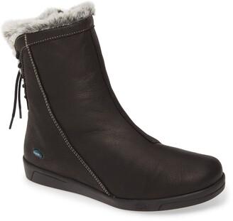 CLOUD Aryana Faux Fur & Wool Lined Boot