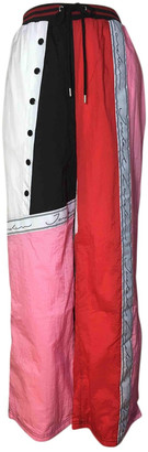 Jaded London Multicolour Polyester Trousers