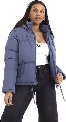 Brave Soul Ladies Jacket CELLOPKD Terracotta UK 12
