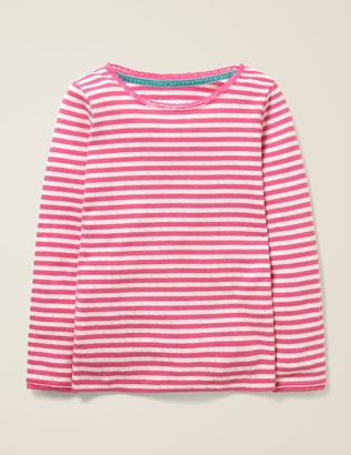 Boden Supersoft Pointelle T-Shirt