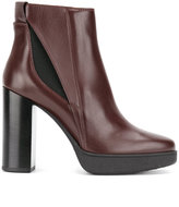 Tod's ankle length boots - women - Calf Leather/Leather/Polyester/Foam Rubber - 37