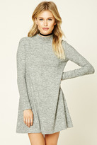 Forever 21 FOREVER 21+ Contemporary Marled Knit Dress