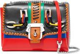 Paula Cademartori Carine embellished leather shoulder bag