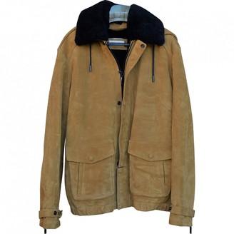 Saint Laurent Brown Suede Coats