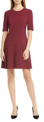 BOSS Dobella Fit & Flare Dress
