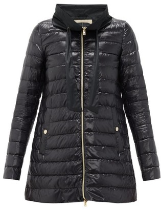 Herno Ultralight Funnel-neck Technical Jacket - Womens - Black