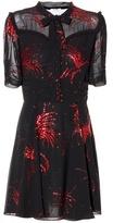 Miu Miu Metallic-embellished dress