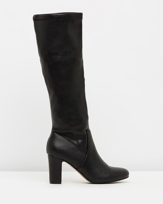 Verali - Women's Black Knee-High Boots - Zack - Size One Size, 36 at The Iconic