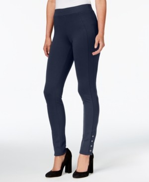 Style&Co. Style & Co Snap-Hem Leggings, Created for Macy's
