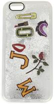 Marc Jacobs Moving MJ Collage iPhone 6S case - women - plastic - One Size