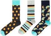 Happy Socks 3 Pack Hs Big Dot Socks