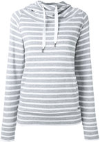 Woolrich striped drawstring hoodie