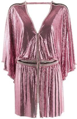 Paco Rabanne Sequin Embellished Tunic