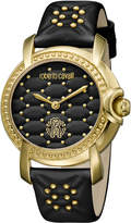 Roberto Cavalli RV1L019L0066 Gold-Tone & Black Watch