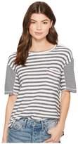 Splendid Solana Beach Mixed Stripe T-Shirt Women's T Shirt